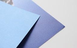 billboardový papír bb papír blue back side 115g